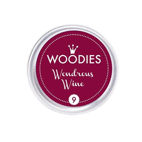 Stempelkissen »Wondrous Wine«, rund