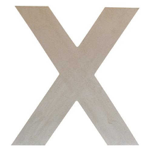 Deko-Buchstabe »X«