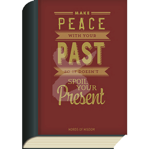 BookCard »Make Peace with Your Past«