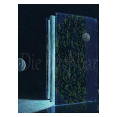 Kunstpostkarte »Magic Book«