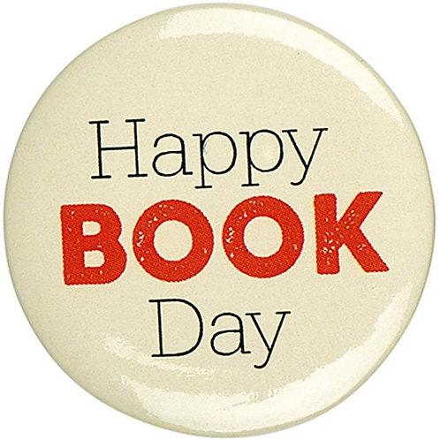 Button »Happy Book Day«