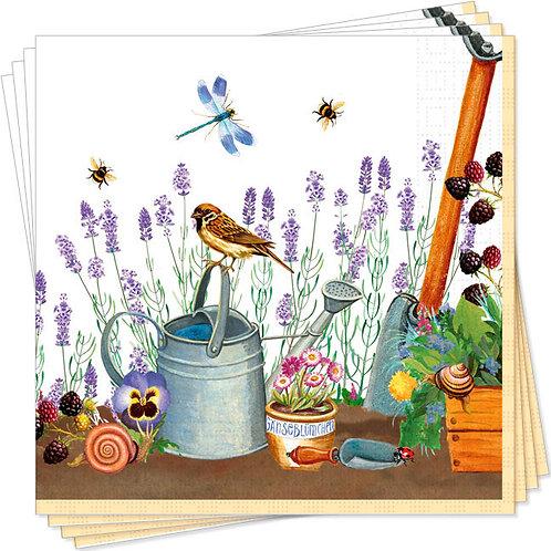 Servietten »Gartenwelt«