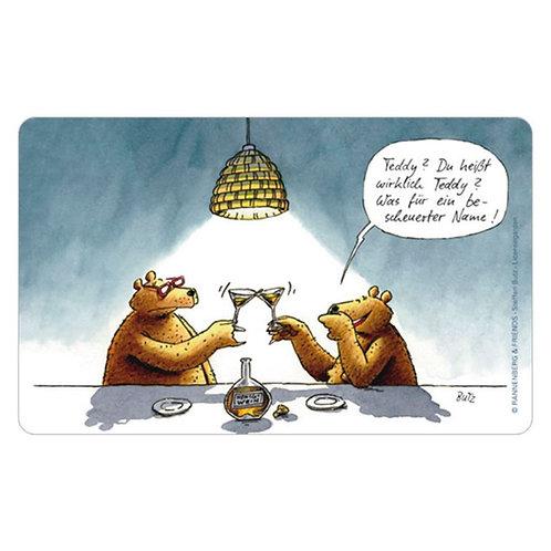 Brettchen »Teddy«
