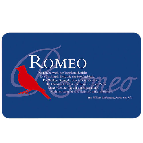Shakespeare-Brettchen »Romeo«