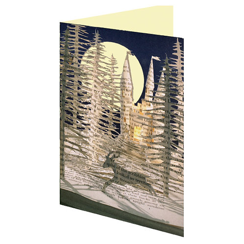 Doppelkarte »Book Art«, Stags Leap