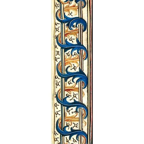 Lesezeichen Gold »David und Bathsheba, Detail«