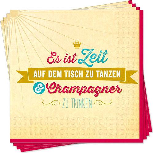 Servietten »Champagner«