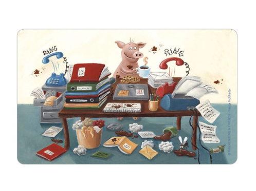 Brettchen »Büro-Chaos«