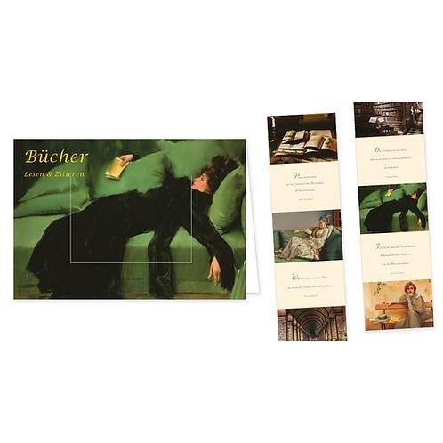 Türchenkarte »Bücher, Lesen & Zitieren«
