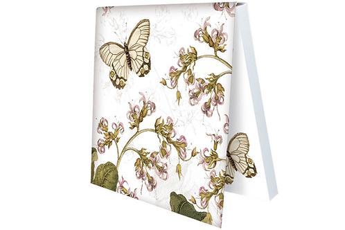 Klebezettel »Maria Sibylla Merian - weißer Schmetterling«