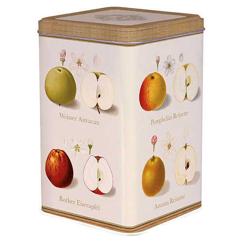 Blechdose »Pomologie der Äpfel«