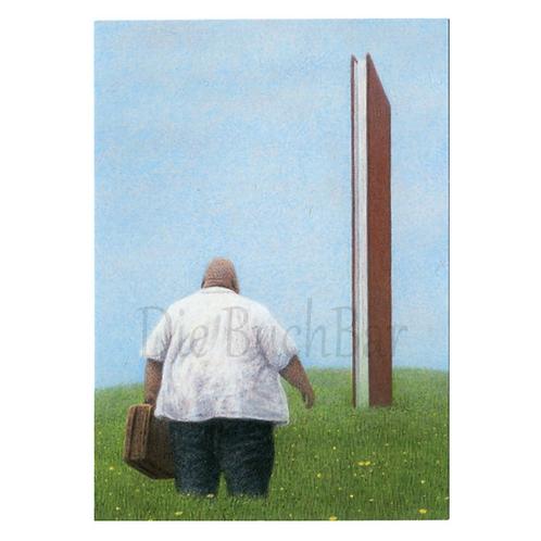 Kunstpostkarte »Nicht verzagen«