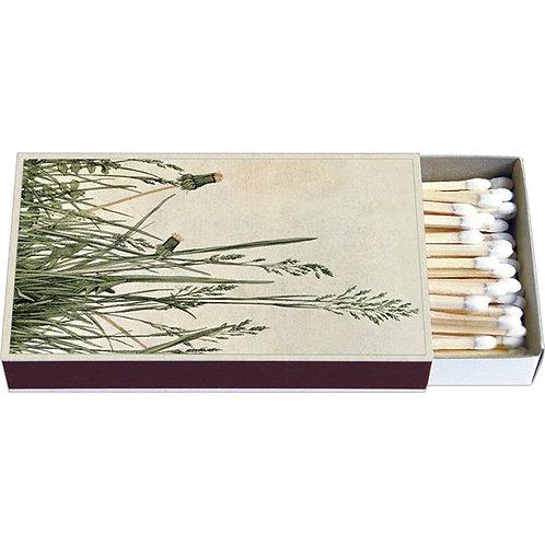 Zündholz-Schachtel  »Das große Rasenstück«