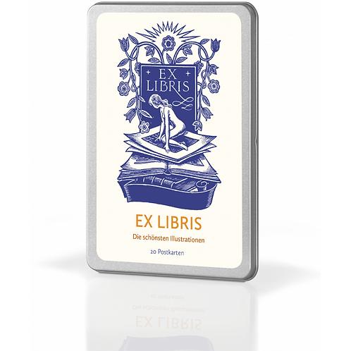 Postkartenset »Ex Libris«