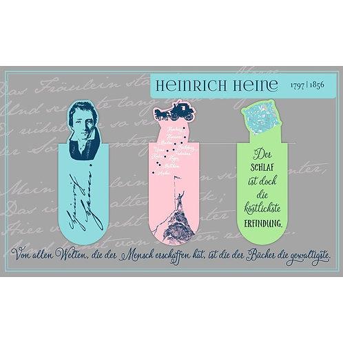 Magnetlesezeichen, Heinrich Heine