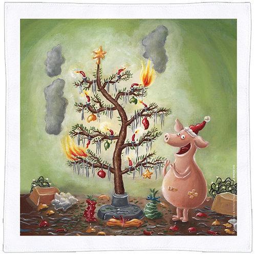 X-mas Spültuch »Weihnachten mit dem Chaosschwein«