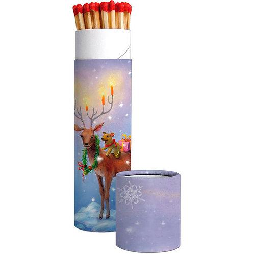 X-mas Zündholz-Dose »Weihnachtshirsch«