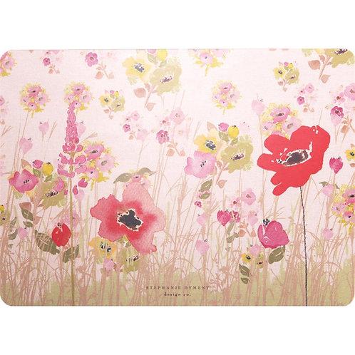 Tischset mit Korkrücken »Meadow Blumenwiese«