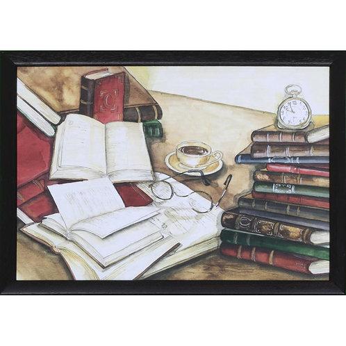 Laptray »Books«