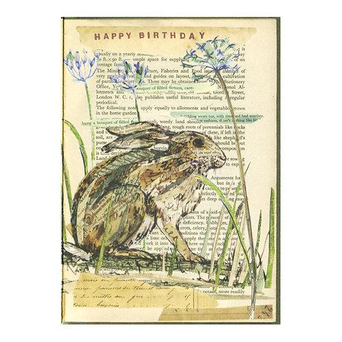 Vintage-Geburtstagskarte, Alliaceae