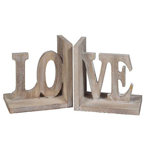 Buchstützenpaar »LOVE«