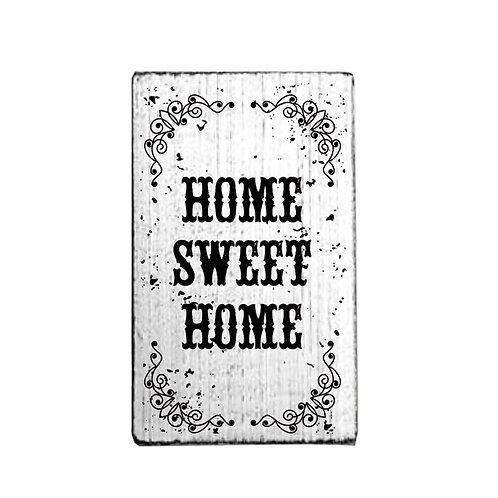Vintage-Stempel »Home Sweet Home«