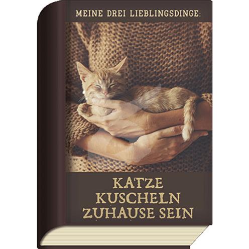 BookCard »Katze Kuscheln Zuhause Sein«