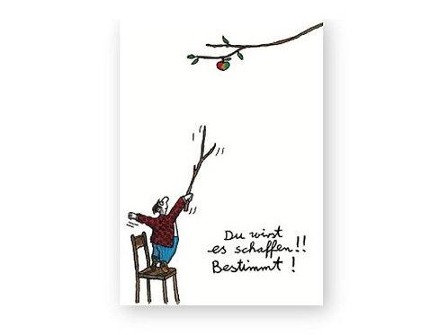 Postkarte »Du wirst es schaffen«