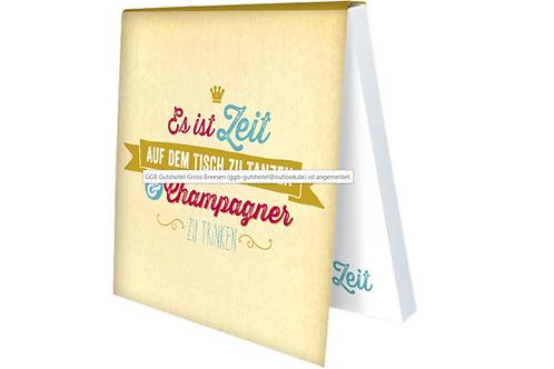 Klebezettel »Champagner«