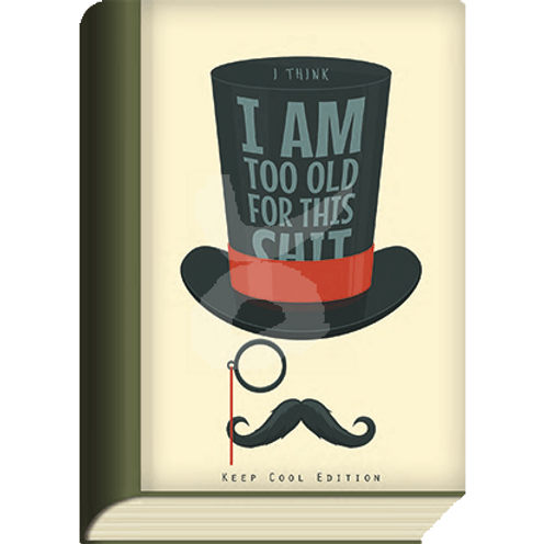 BookCard »I am too old«