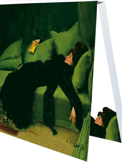 Klebezettel »Après le bal«