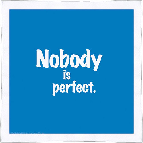 Spültuch »Nobody is perfect«
