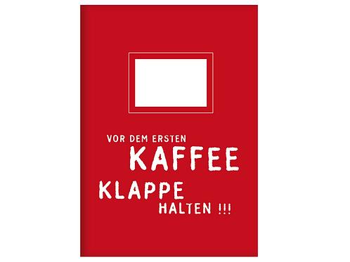 Kladde »Vor dem ersten Kaffee« (A6)