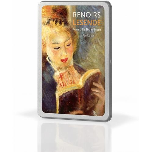 Postkartenset »Renoirs Lesende«