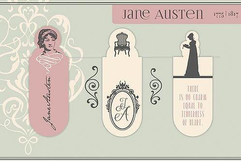 Magnetlesezeichen, Jane Austen