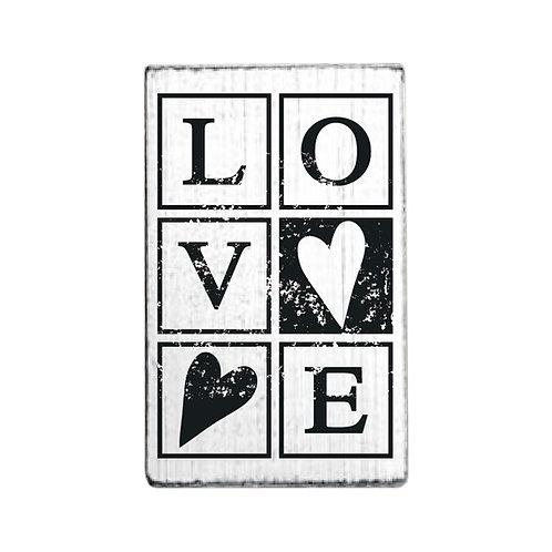 Vintage-Stempel »Love«