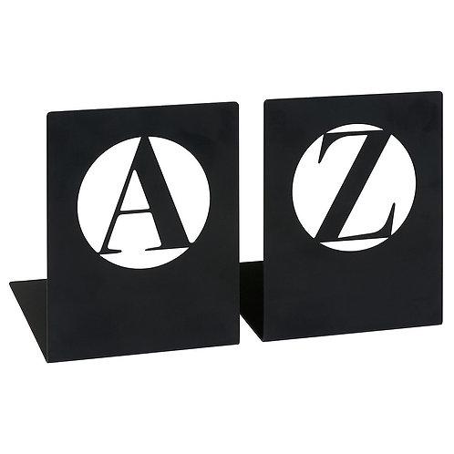 Buchstützen »A bis Z«, modern