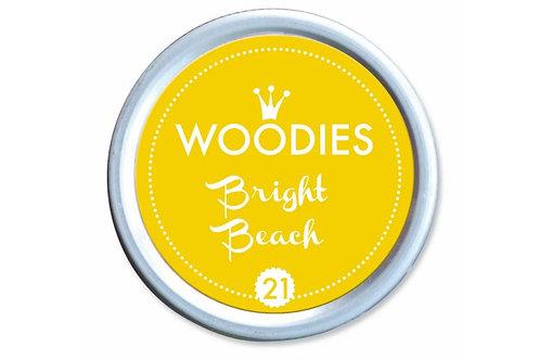Stempelkissen »Bright Beach«, rund