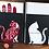 Thumbnail: Buchstütze »Katze«