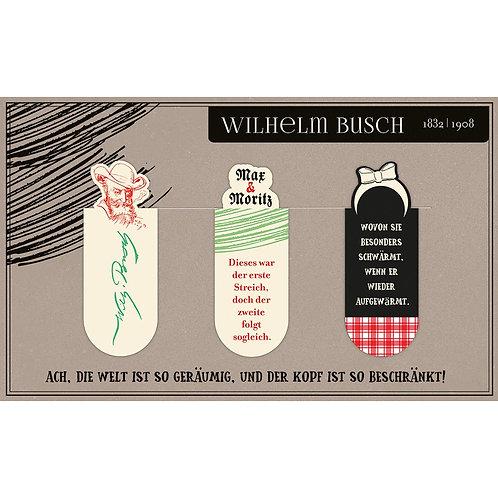 Magnetlesezeichen, Wilhelm Busch