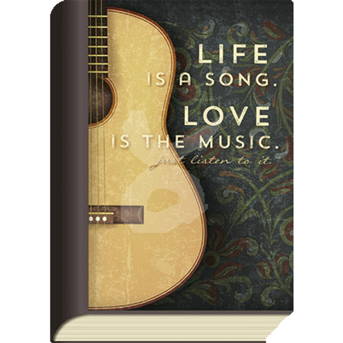 BookCard »Life Song - Love Music«