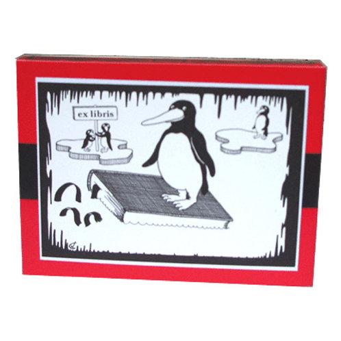 ExLibris »Pinguin«
