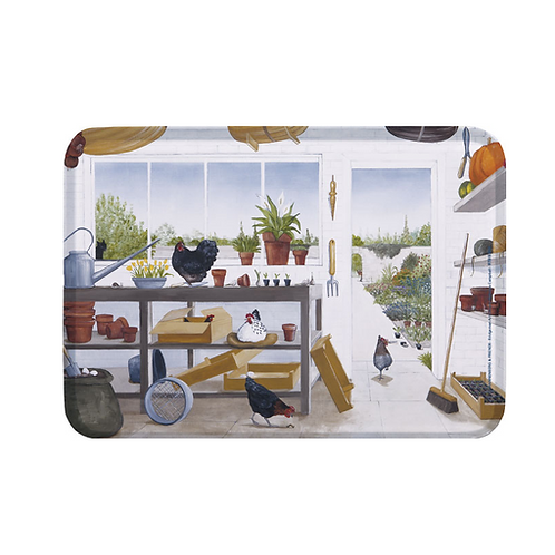 Tablett small »Gartenfreude«