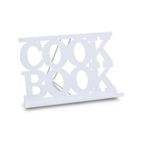 Cook-Book-Ständer, weiß