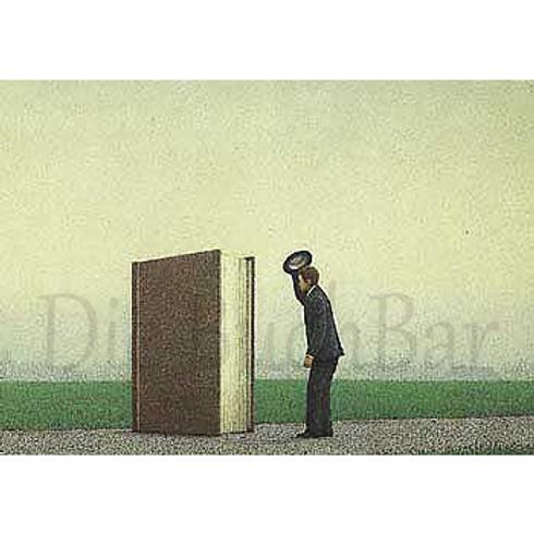 Kunstpostkarte »Der Gruß«