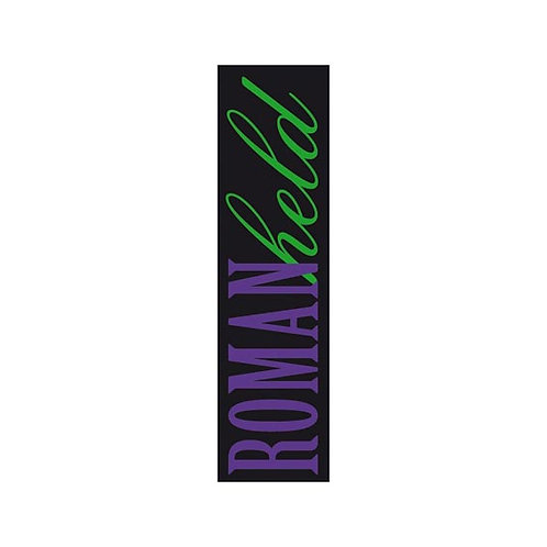 Lesezeichen mit Band »Romanheld«