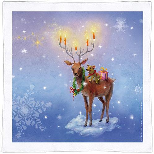 X-mas Spültuch »Weihnachtshirsch«