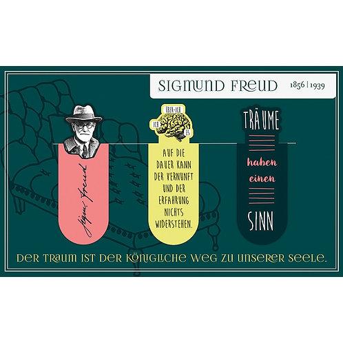 Magnetlesezeichen, Sigmund Freud