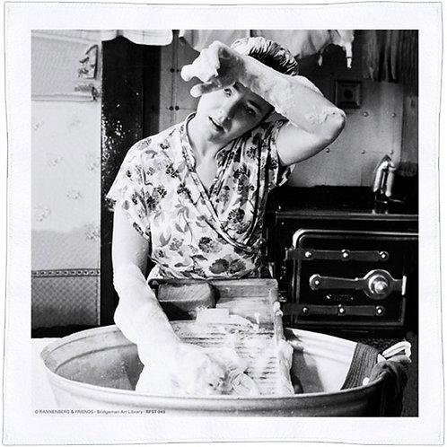 Spültuch »Waschfrau«