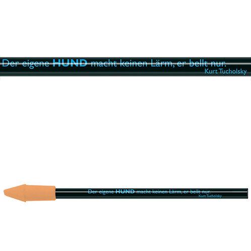 Zitate-Bleistift, Tucholsky, Hund